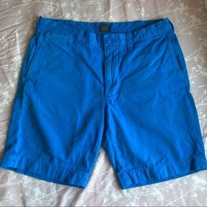 Men's J. Crew Blue 9 Inch Stanton Chino Short